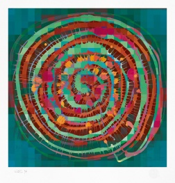 spiral-110cm-aqua-green-orange